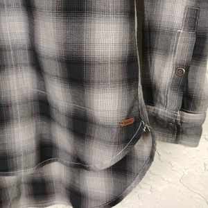 Roots Tops - Roots Canada Plaid Cotton Flannel Work Shirt